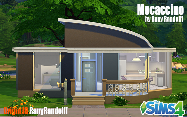Residential lot Mocaccino by Rany Randolff at ihelensims.org.ru