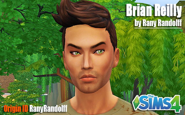 Sims model Brian Reilly by Rany_Randolff at ihelensims.org.ru