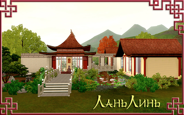 Residential lot LanLin by Gelcha at ihelensims.org.ru