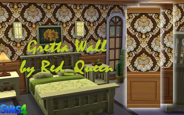 Walls/Floors Gretta Wall by Red_Queen at ihelensims.org.ru