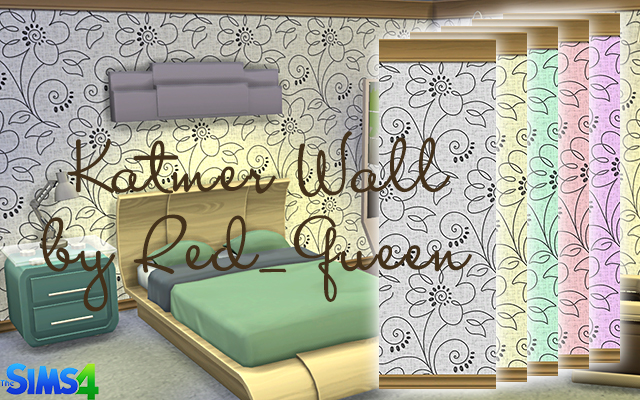 Walls/Floors Katmer Wall by Red_Queen at ihelensims.org.ru