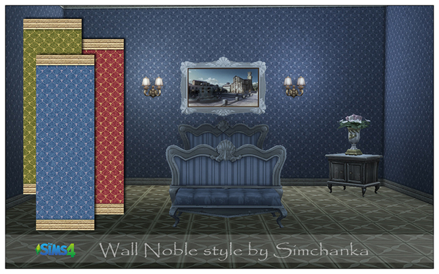 Walls/Floors Wall Noble style by Simchanka at ihelensims.org.ru