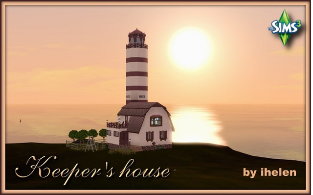 Residential lot Keeper's house by ihelen at ihelensims.org.ru
