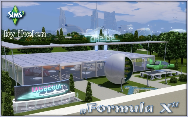 Community lot Formula_X by ihelen at ihelensims.org.ru