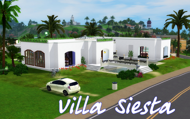 Residential lot Villa Siesta (Unabridged rebuilding) by Darlin at ihelensims.org.ru